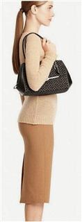 Coach Madison麦迪逊帆布拼皮时尚女包25215