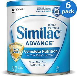 美国雅培 Similac 金盾免疫力一段 婴儿奶粉 352g