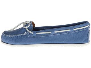 美国代购 Minnetonka Cloud Boat Moc走在云端真皮平底鞋