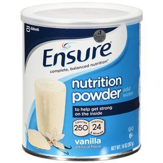 美国直邮雅培安素Ensure成人营养 术后修复 蛋白质营养粉/397g