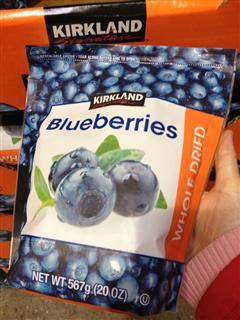 (美国直邮) Kirkland 特级蓝莓干 抗氧化、眼防、辐射 567g