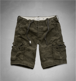 A&F Cargo Shorts 迷彩工装短裤