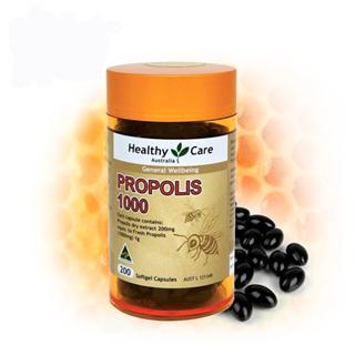 Healthy Care Propolis 蜂胶软胶囊1000毫克200粒