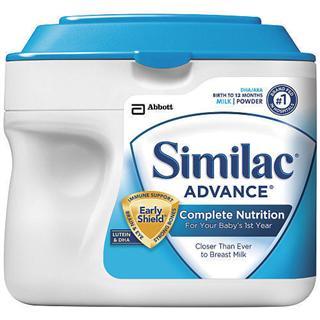 美国雅培 Similac 金盾一段婴儿奶粉 新版 658g  3罐包邮