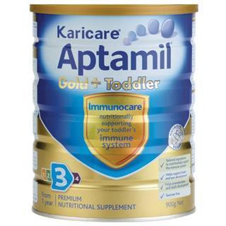 Karicare可瑞康爱他美奶粉Aptamil gold+3段 澳洲超市采购直邮
