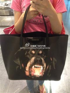 Givenchy 纪梵希狗头包 大大大型购物袋