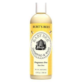 Burt's bees 小蜜蜂婴儿无泪洗发、沐浴露350ml