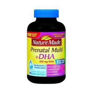 美国Nature Made孕妇综合维生素+DHA 150粒