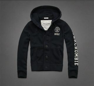 美国正品 Abercrombie&Fitch AF Bushnell Falls 男士卫衣