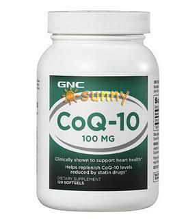 免运费!包美国直邮 GNC辅酶Q10软胶囊100mg 120粒 保护心脏