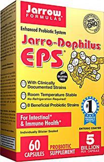 美国直邮Jarrow Formulas益生菌片EPS60粒