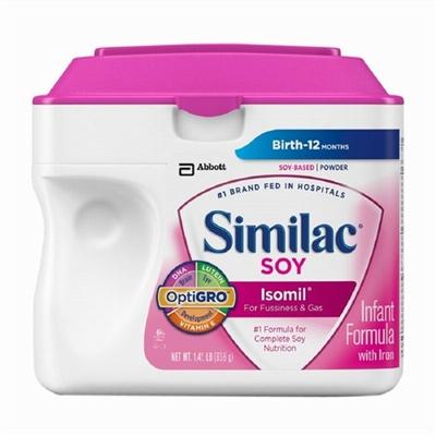 Similac雅培金盾一段大豆配方奶粉658克 (3罐起包邮)