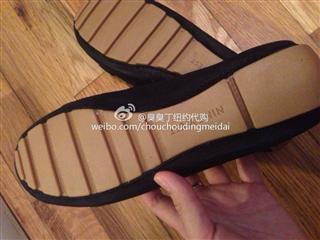 美国现货 Nine West平底鞋 糜鹿皮 黑色美码6 适合36的脚,一双