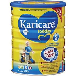 Karicare普通装三段婴儿奶粉 900 克