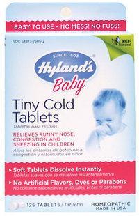 免运费!包美国直邮Hyland's baby全天然顺势疗法感冒婴幼儿小片