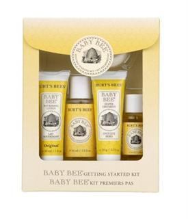 【代购直邮】Burt's Bees 小蜜蜂婴儿洗护旅行套装