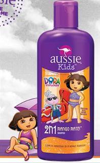 包美国直邮! aussie袋鼠儿童洗发护发二合一 芒果味 355ml