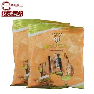 澳洲进口 Golden Boronia金宝乐牛轧糖卡布奇诺杏仁脆糖100g*2袋