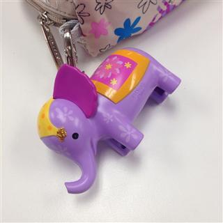 美代 LESPORTSAC 乐播诗 2417 迪斯尼限量小象花朵单肩斜跨女包