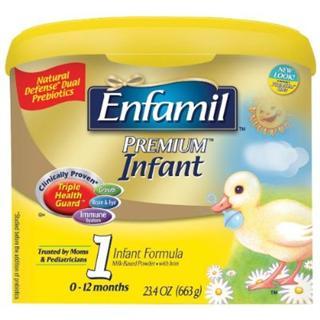 美国直邮! 美国美赞臣 Enfamil Premium 金樽1段 663克1段奶粉