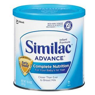 限量超低价★直邮美国雅培Similac金盾免疫力一段/1段婴儿奶粉352
