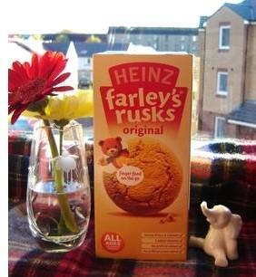 英国亨氏Heinz营养高铁高钙婴儿饼干4m+ 150g 英国直邮