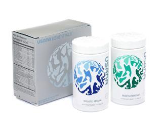 美国直邮 USANA优莎娜 基本营养素 基础套装2瓶 (美国版本)