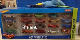 美国 hot wheels 风火轮儿童模型车 20个