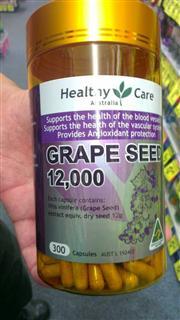 【澳洲代购】Healthycare葡萄籽12000mg美白养颜抗老淡斑