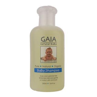 澳洲直邮GAIA天然有机婴儿洗发水 香波 无泪配方 250ml