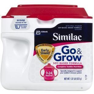 美国雅培 Similac 含铁 二段大豆奶粉 623g