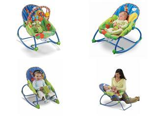 美国正品直邮 Fisher费雪婴儿摇椅 电动按摩椅 宝宝躺椅