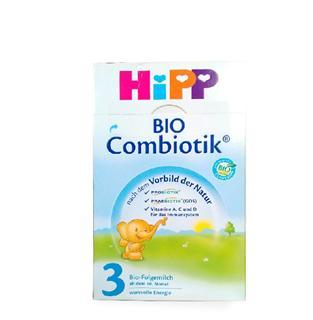 德国喜宝HiPP3段益生元益生菌 幼儿奶粉10-12月 600克【4罐起售】