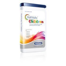 英国HealthSpan儿童维生素矿物质小熊糖 3岁+ 120粒 英国直邮