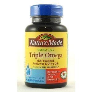 免运费!包美国直邮!Nature Made Omega 健康复合油胶囊 180粒