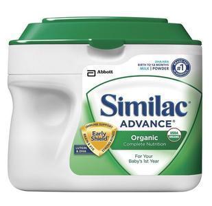 美国直邮 similac雅培 一段 金盾有机奶粉 658g