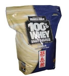 免运费!包美国直邮Whey Protein 100%乳清蛋白粉2722g 香草口味