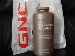 美国直邮GNC大豆卵磷籽颗粒454G(2个起直邮)