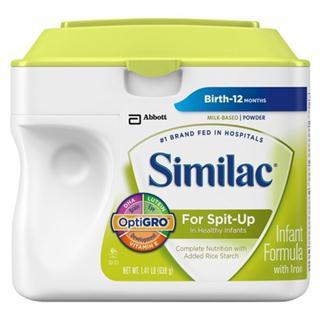 【美国直邮】Similac雅培一段温和防吐奶粉638克 (3罐起拍)