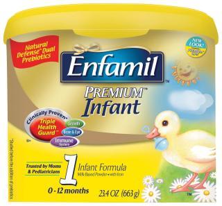 【超级奶爸】美赞臣婴儿1段奶粉 Enfamil Premium Infant 663g