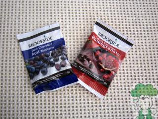 【换购】Brookside蓝莓/石榴夹心黑巧克力23g试吃装