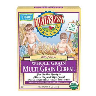 Earth's Best世界最好 有机高铁3段混和谷物米粉227g