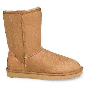 澳洲直邮 7天送达 正品UGGAustralia 羊毛皮一体经典款女靴短 包邮