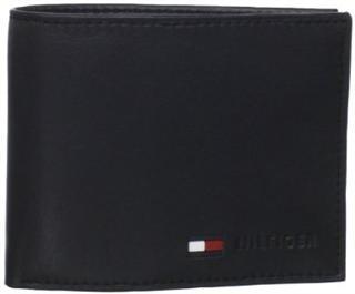 美国直邮 正品Tommy Hilfiger 男士两折钱包/钱夹/皮夹  H款