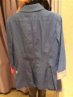 香港实拍顺风直邮 港牌 14春夏 甜美百搭西装外套