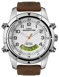 美国直邮  TIMEX双显石英表时尚休闲手表男士表T49828