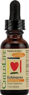 包美国直邮!ChildLife童年时光婴幼儿紫锥菊滴剂 增强免疫29.5ml
