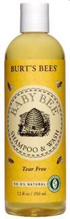 美国 Burt's Bees 小蜜蜂 婴儿天然洗发沐浴露 (235ml / 350ml)