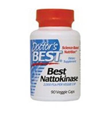 包邮包税 Doctor's Best 纳豆激酶胶囊溶血栓降血压 90粒