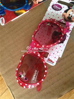 迪斯尼儿童墨镜 100% UV保护(拍下备注款式)